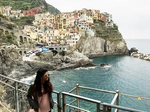 Sunday in Cinque Terre, Italy