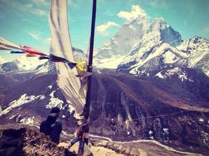 Nepal,Kathmandu,Mt'EBC.