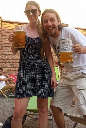 New friends in Krakow