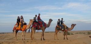 Sam Sand Dunes, Jaisalmer - A Photo Tour