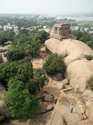 Mahabalipuram -The place of stone and marbles