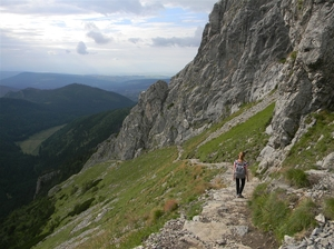 Trekking in Polish Tatra mountains - Giewont