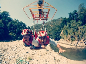 A adventurous trip to Rishikesh