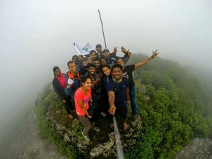 On top of eastern ghats!