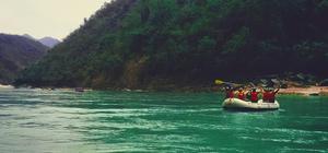 Rafting at jayalgarh