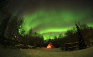 Dance of the Northern Lights (Aurora Bourealis)