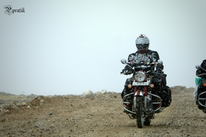 How can Ladakh Road Trip makes you happy with small small things...
