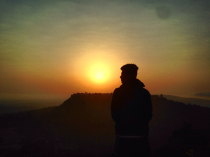 Sunrise At Panhala❤️✨