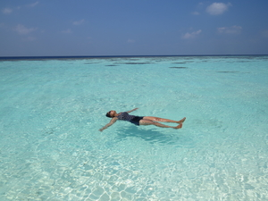 Budget travel to Pristine Maldives