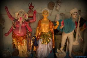 Making of GODs - Idols making In Chitranjan Park