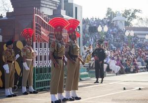 Beating the Retreat @Wagah Border,Amritsar