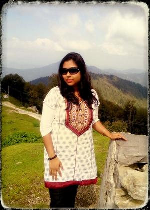 Ashima Banerjee Travel Blogger