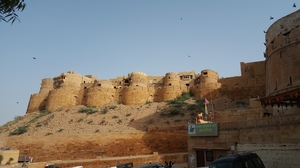 To the golden city, Jaisalmer