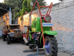 Sudha (Wacky) Car Museum - Creativity of Hyderabad