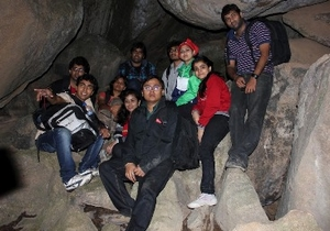 Night Trek and Cave Exploring At Antaragange