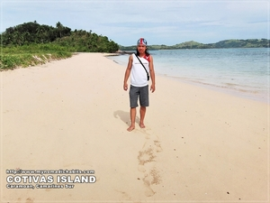 Footsteps In The Sand: Caramoan, Philippines