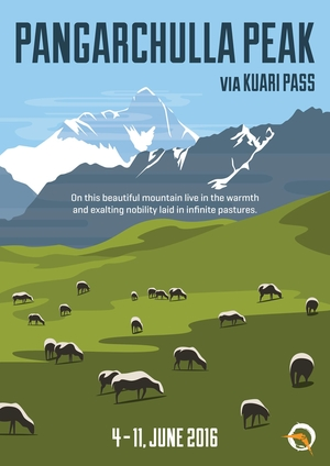 Nomads @Pangarchulla Peak