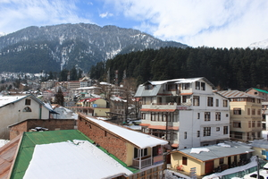 Manali: The Snow-Draped Town