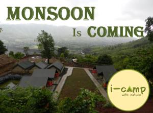 #MonsoonIsComing - Camping at I-Camp Resort, Wai