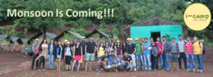 #MonsoonIsComing - Camping at I-Camp Resort, Wai