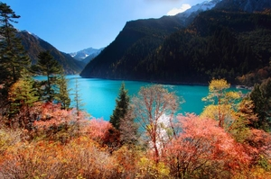 BACKPACKING IN JIUZHAIGOU, CHINA — WHERE THE BIRDS AND ANIMALS AREN'T AFRAID OF HUMANS