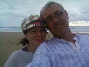 Jenny and John in France Travel Blogger