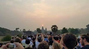 Explore the ancient city of Angkor