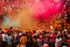 holi colours from barsana & nandgaon