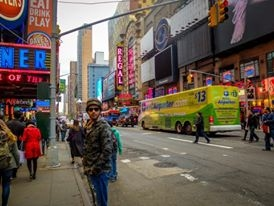 Chaos & calm in New York City