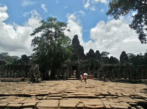 Exploring the Walled City of Angkor Thom