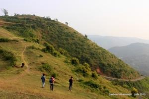 Camping at Attappadi Hills Kerala, India