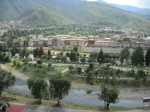 Bhutan - Well planned and very scenic Thimphu
