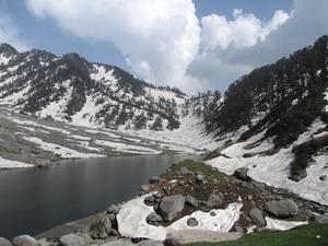 Kareri lake trek in the land of Dalai Lama