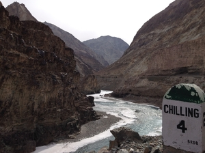 Slipping and sliding all the way - my Chadar trek, feb'16