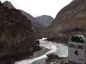 Slipping and sliding all the way - my Chadar trek, feb'16