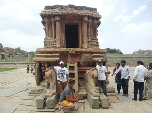 Weekend expedition to Hampi