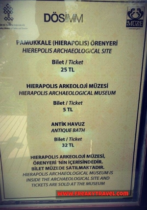 Pamukkale-Hierapolis: A visit to  UNESCO World Heritage Site