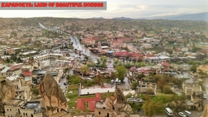 Backpacking in kapadokya, Turkey