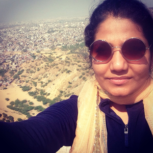 Rashmi Nambiar Travel Blogger