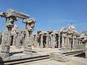 Trip to Lepakshi and Veerapuram