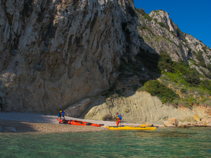 Kayaking in Croatia - Blue Horizon Ciovo Expeditio