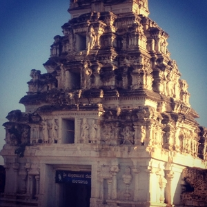 Time Traveling to the 13th Century, Hampi