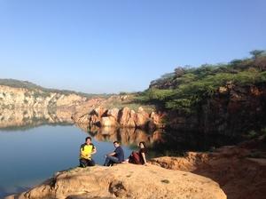 For Weekenders - Lake nested within ARAVALI HILLS Bhardwaj Lake
