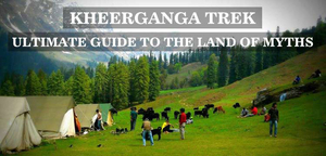 Backpack for KhirGanga Trek