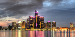 Backpacking Detroit, Michigan