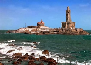 The Roads End - Kanyakumari