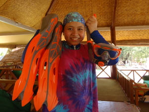 Under the sea: Snorkeling with jelly fish in Lombok
