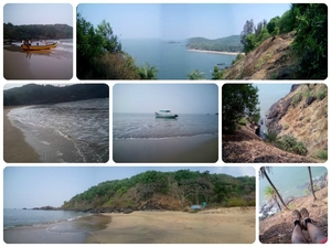 Beach Trek in Gokarna; the Trail Tale