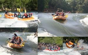 Frolicking in the White Water of River Kali, Dandeli