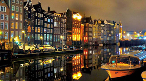 Top five things to do in Amsterdam at night